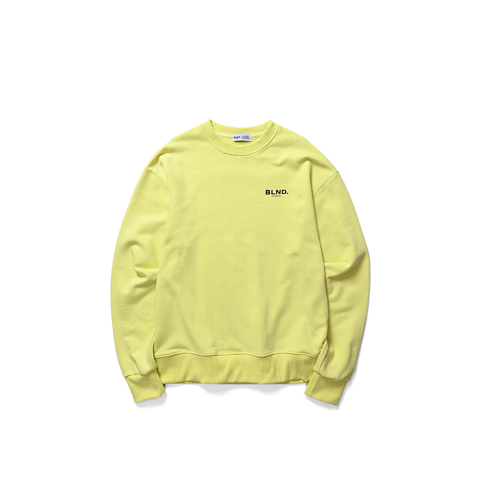 BLND Signature Sweatshirts - Lime