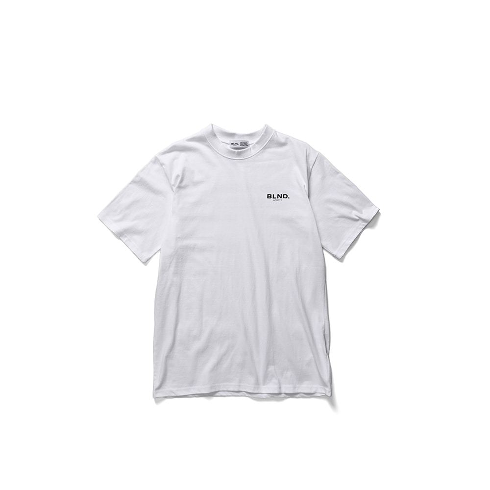 BLND Sinature Short Sleeves - White