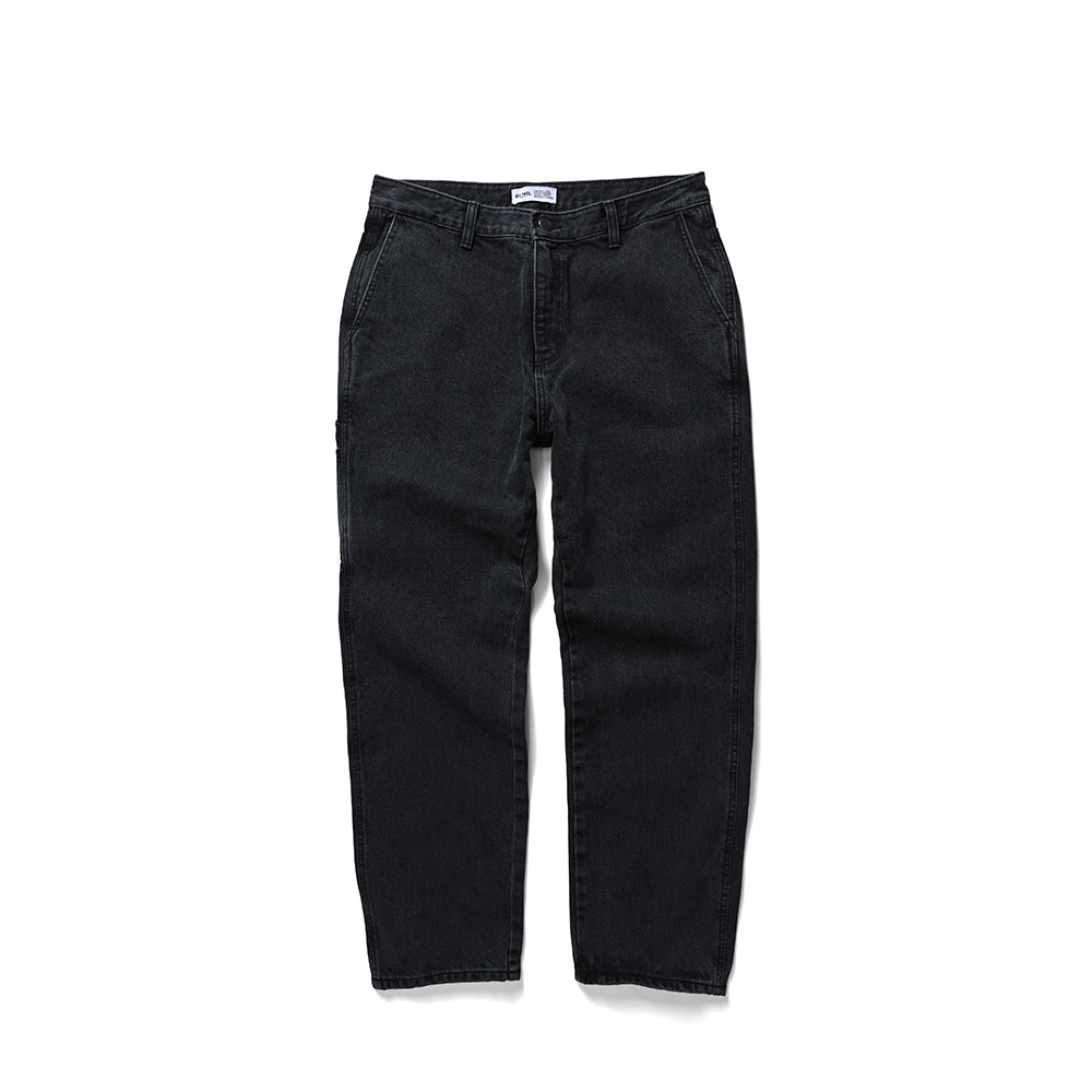 BLND Side Pocket Long Denim - Black