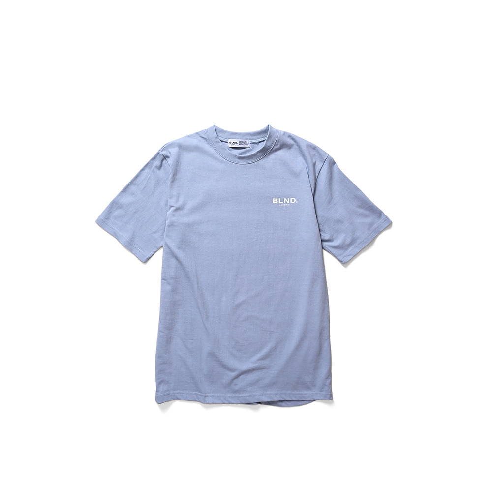 BLND Sinature Short Sleeves - Sky Blue