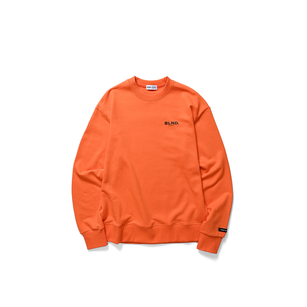 BLND Signature Sweatshirts - Orange