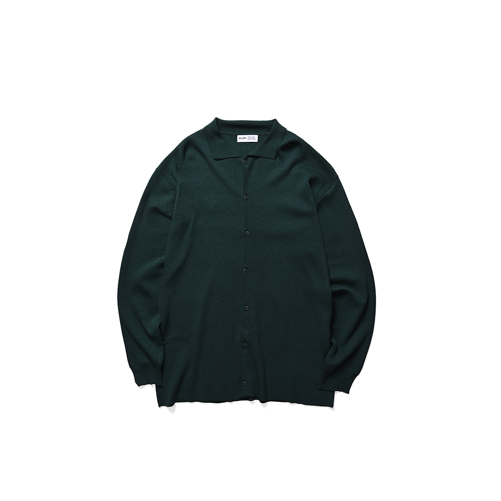 BLND PK Cardigan - Deep Green