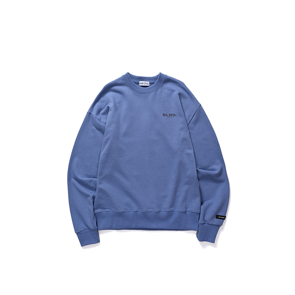 BLND Signature Sweatshirts - Deep Blue