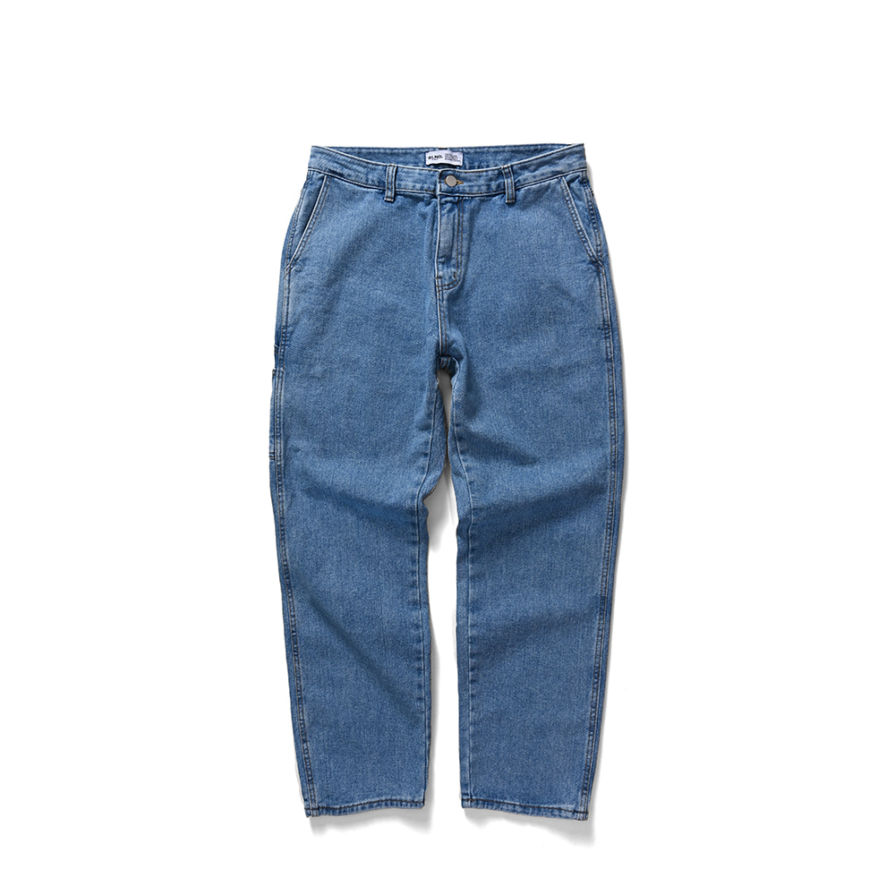 BLND Side Pocket Long Denim - Light