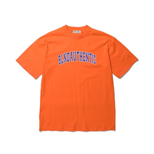 BLND Arch Logo Short  Sleeves - Orange