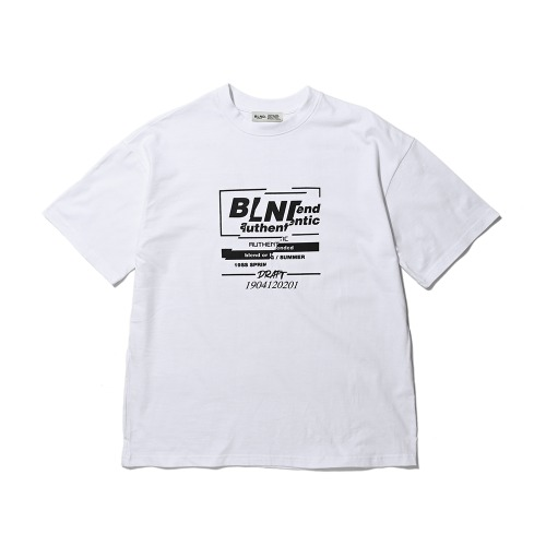 BLND Exclusive Short Sleeves - White