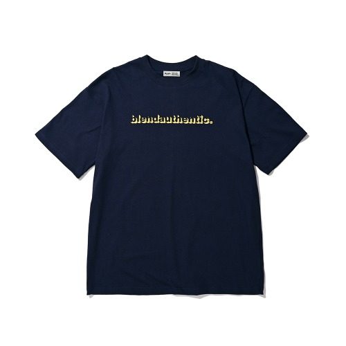 BLND Shadow Short Sleeves - Navy