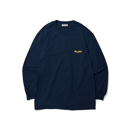 BLND Signature Logo Long Sleeves - Navy