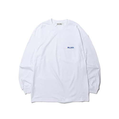 BLND Signature Logo Long Sleeves - White