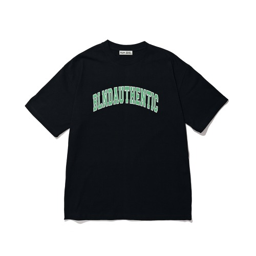 BLND Arch Logo Short  Sleeves - Black