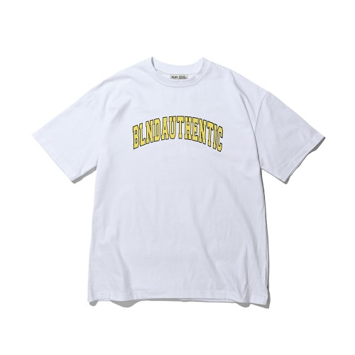 BLND Arch Logo Short  Sleeves - White