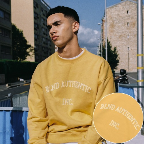 INC Heavy Weight Sweatshirts - Yellow