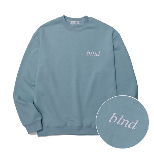 Lettering Logo Heavy Weight Sweatshirt - Mint
