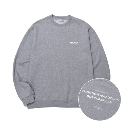 New Signature Heavy Weight Sweatshirts - Grey