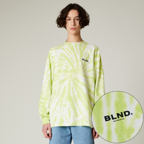 TIEDYE SIGNATURE LONG SLEEVES - YELLOW GREEN