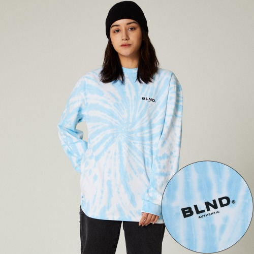 TIEDYE SIGNATURE LONG SLEEVES - BLUE
