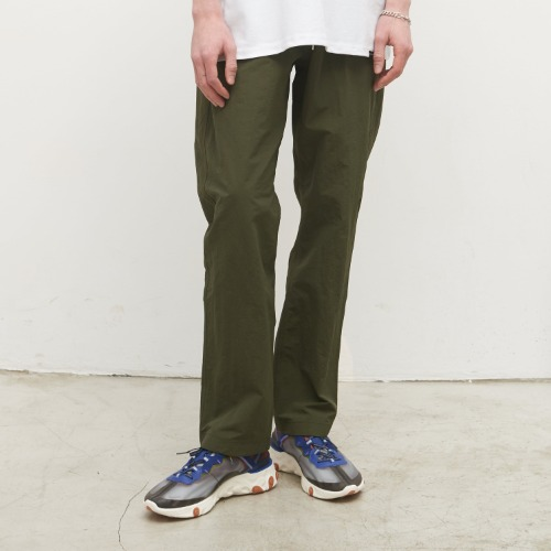 Unisex Tapered Banding Pants - Khaki