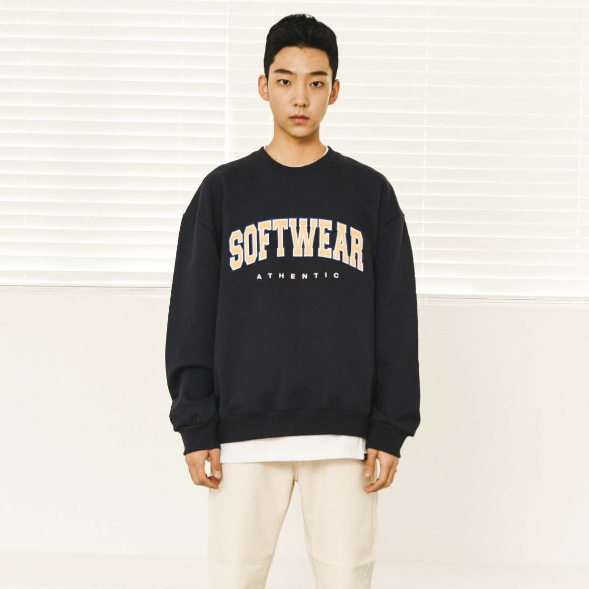 Softwear Aplique Heavy Sweatshirts - Navy